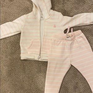 Baby Gap fleece outfit